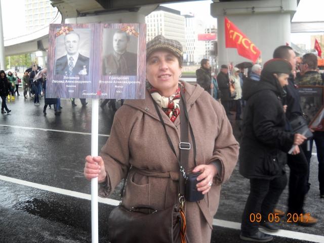 Я и мои ветераны на Ленинградском проспекте