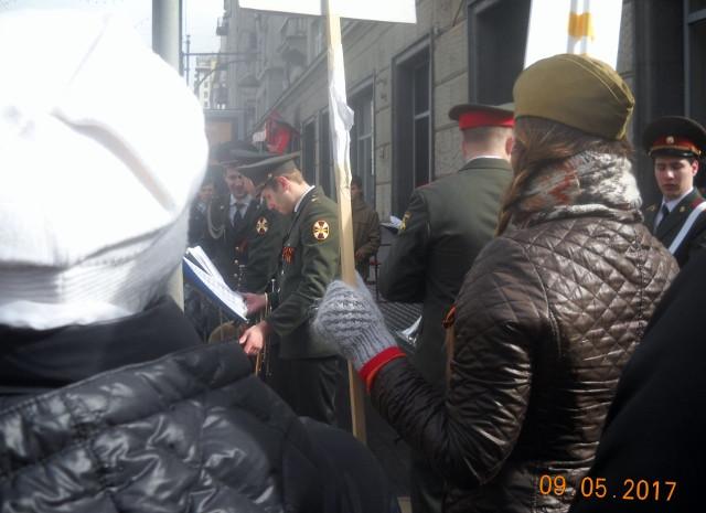 Духовой оркестр на Тверской