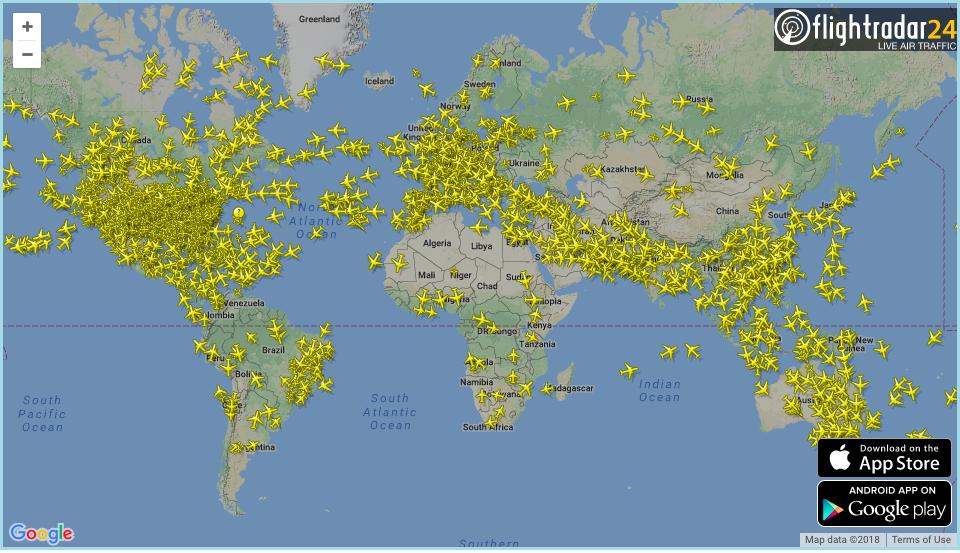 Где живут самолёты