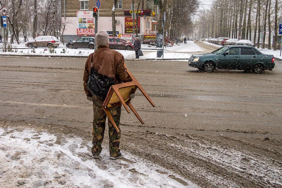 Пермь под снегом 12