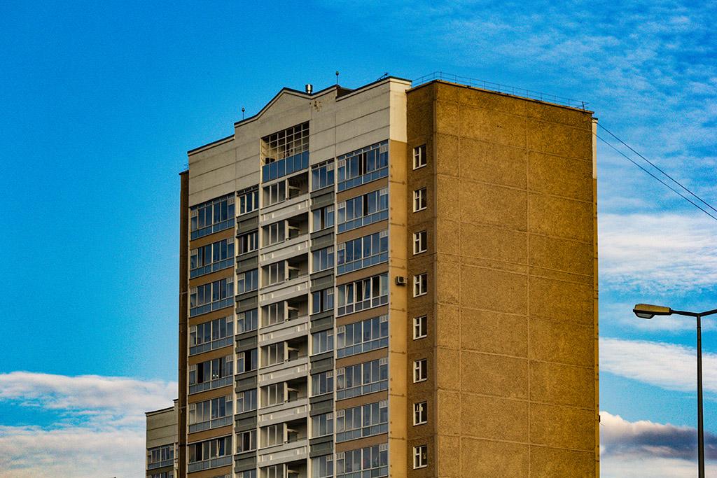 Пермь. Улица Строителей. 54