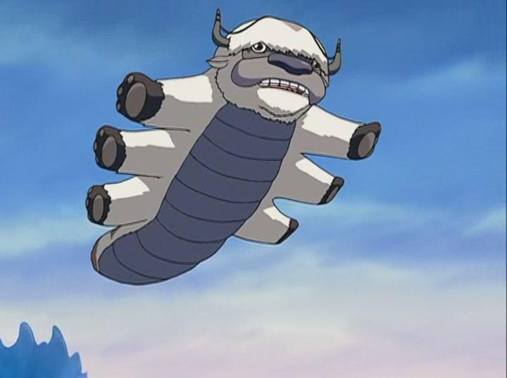 летающий аватар: