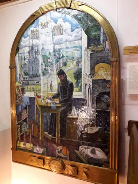 Музей финифти в Ростове Великом.