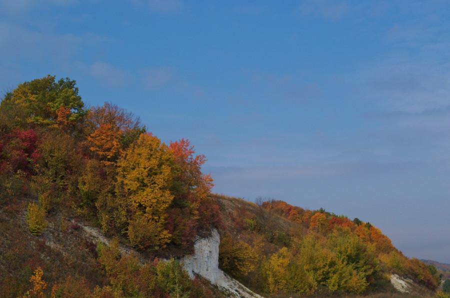 осенний холм