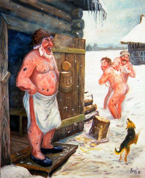 Эротическое видео женщины моются в деревенской бане эшли