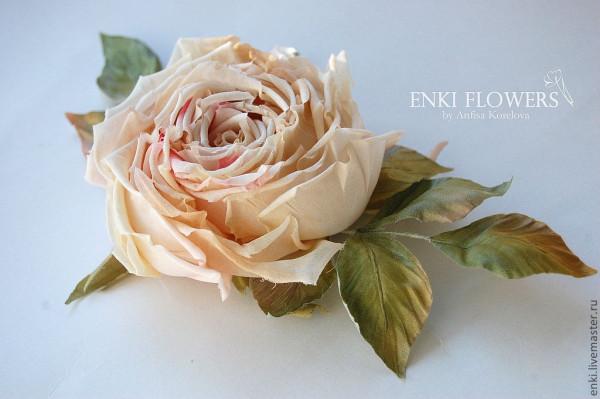 Цветы из шелка-мк