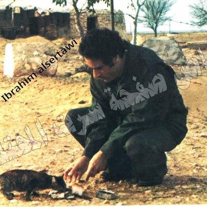 Каддафи и кот