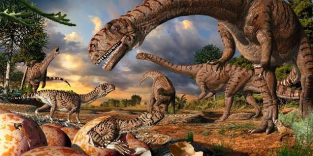 Найдено самое древнее гнездо динозавров в ЮАР