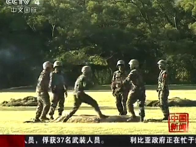 Китайские солдаты на тренировках рискуют жизнью