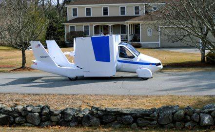 В США началось массовое производство летающих автомобилей