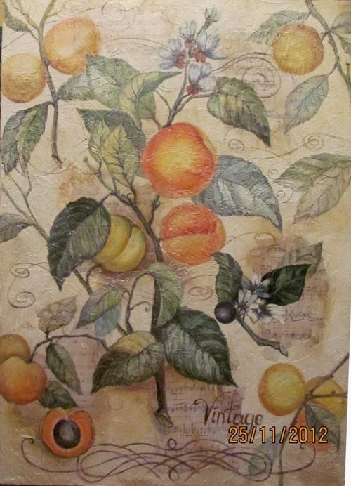 Персики 2 размер 71смна 99см