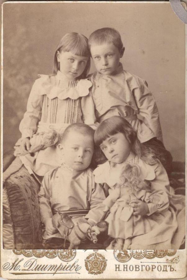 фото дети Волковы