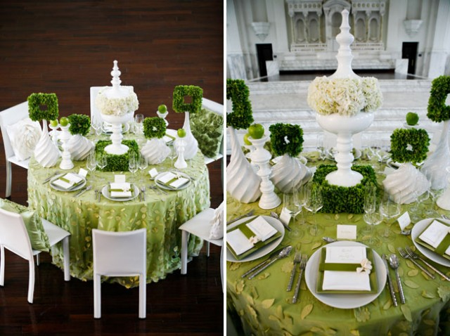 Useful Tips to Make a Green Wedding Ceremony Decorations