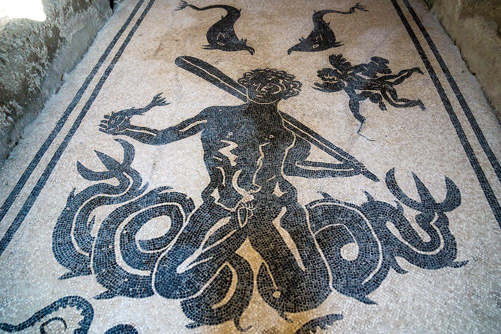 Фрекси, раскопки и достопримечательности Геркуланума