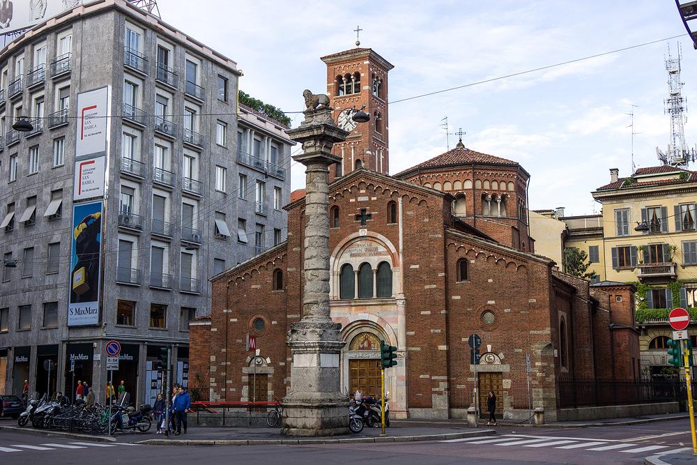 Милан достопримечательности и фото. Что посмотреть в Милане. Отчеты и отзывы о Милане.