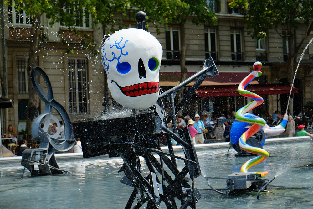 Париж музей Помпиду. Что посмотреть в Париже.
