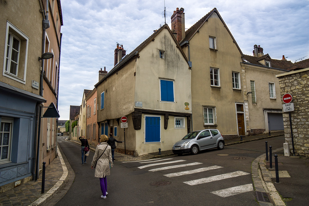 Шартр Chartres Нижний город достопримечательности отчет жж livejournal  DSC04692