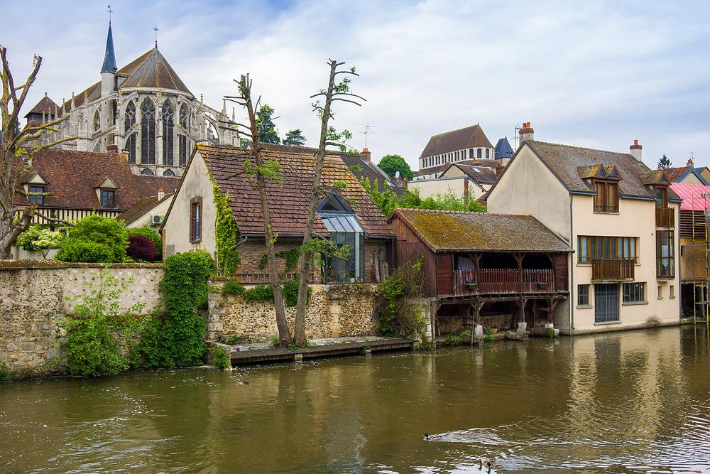 Шартр Chartres Нижний город достопримечательности отчет жж livejournal  DSC04731