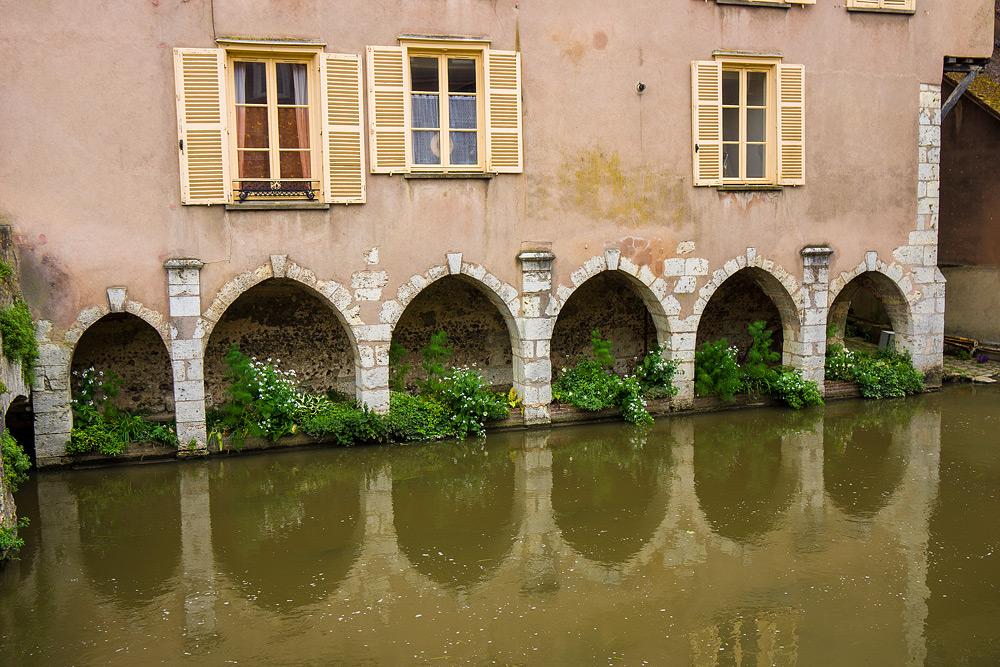 Шартр Chartres Нижний город достопримечательности отчет жж livejournal  DSC04755