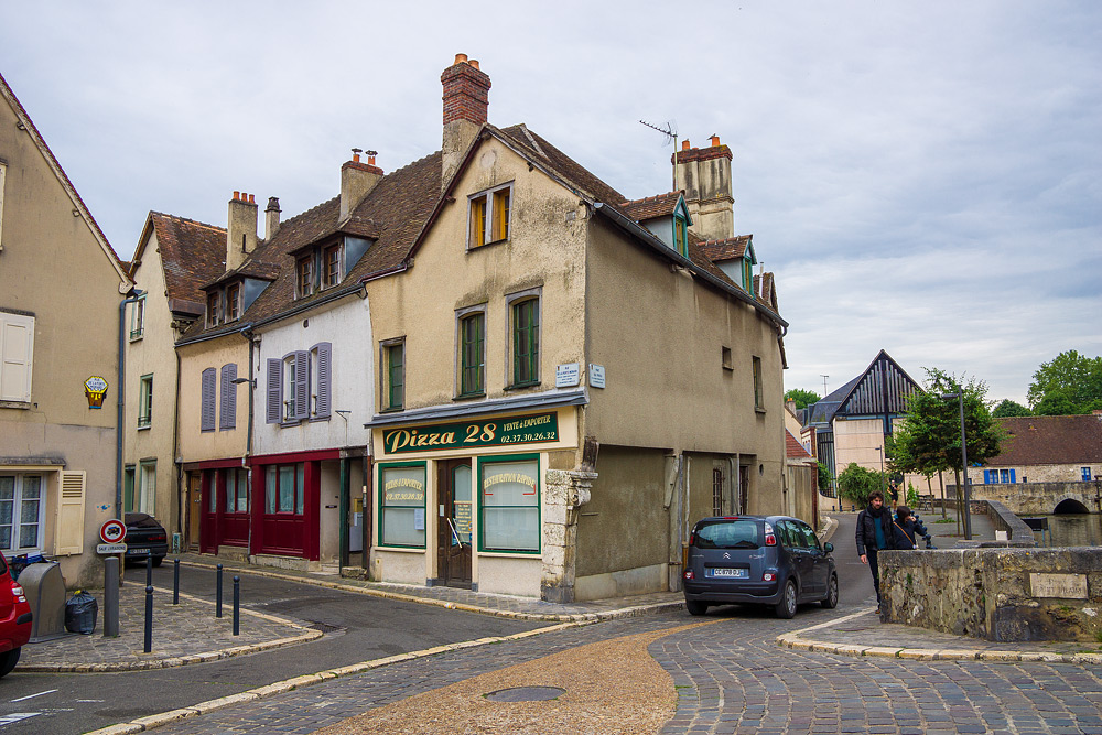Шартр Chartres Нижний город достопримечательности отчет жж livejournal  DSC04758