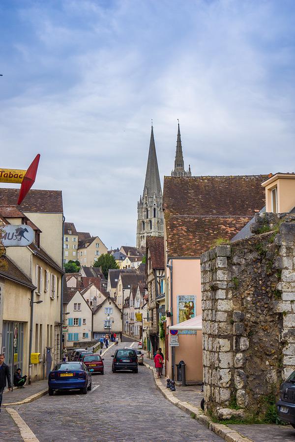 Шартр Chartres Нижний город достопримечательности отчет жж livejournal  DSC04797