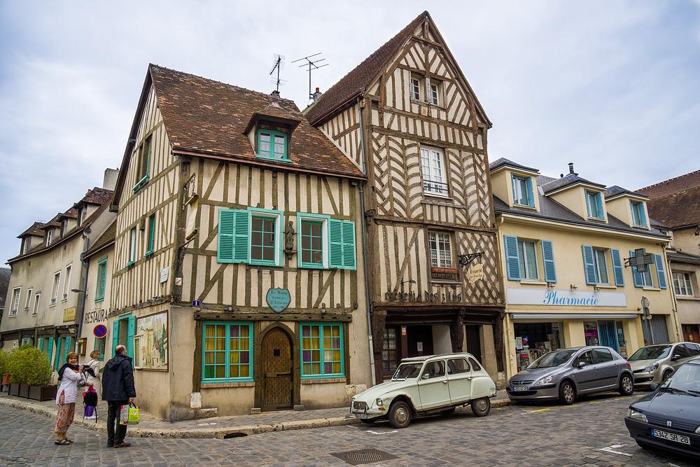 Шартр Chartres Нижний город достопримечательности отчет жж livejournal  DSC04813