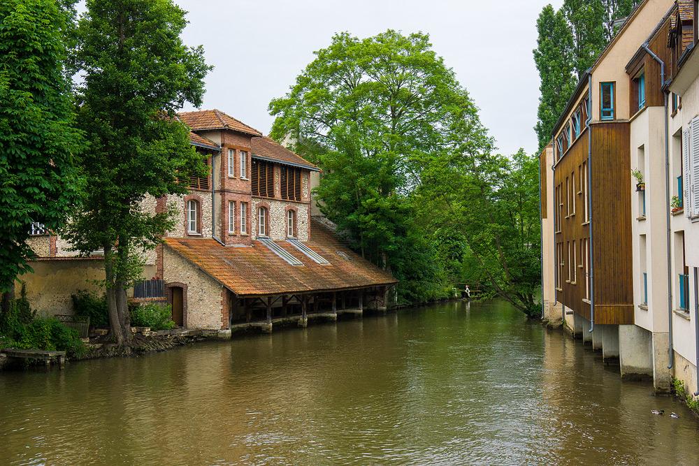 Шартр Chartres Нижний город достопримечательности отчет жж livejournal  DSC04865