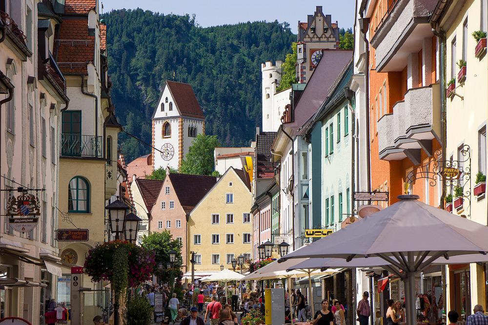 Что посмотреть в Фюссене Достопримечательности Фюссена отчет жж livejournal Бавария