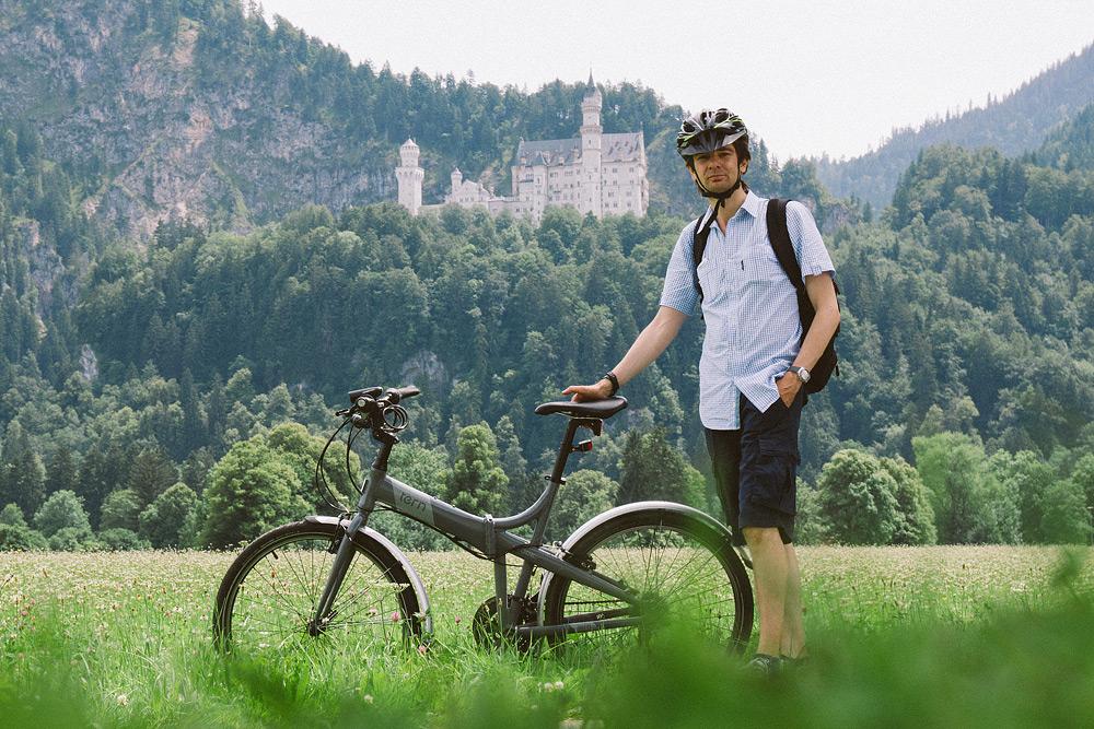 Tern Joe D24 Складной велосипед с колесами 26 дюймов