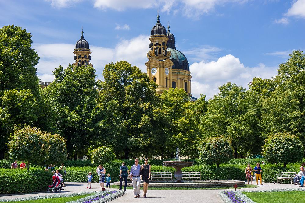 Мюнхен достопримечательности Мюнхена что посмотреть в Мюнхене Бавария велопоездка по Баварии