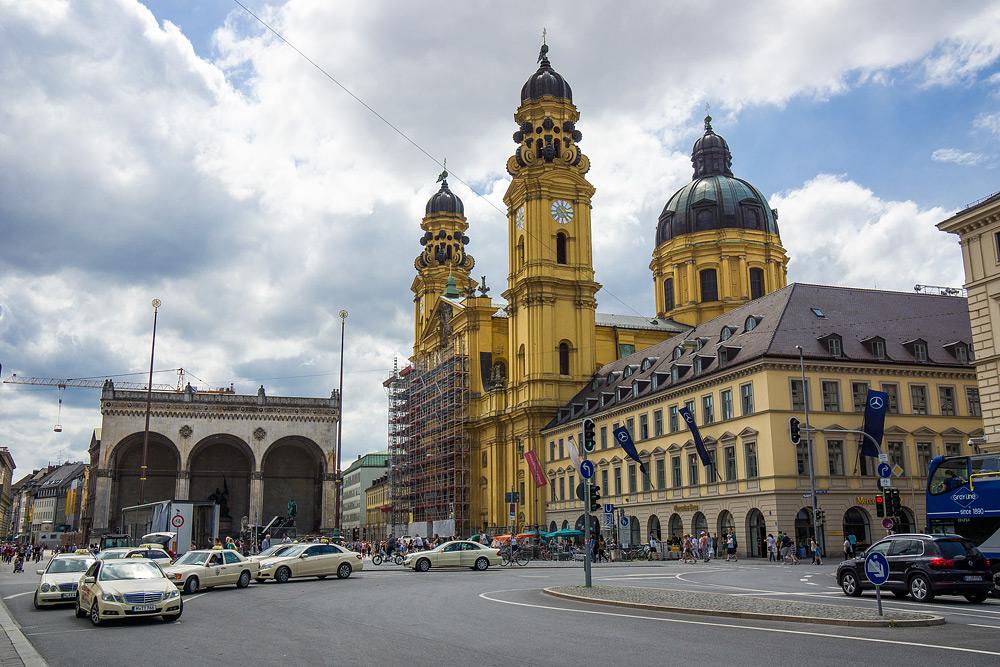 Мюнхен достопримечательности Мюнхена что посмотреть в Мюнхене Бавария велопездка по БаварииDSC06897