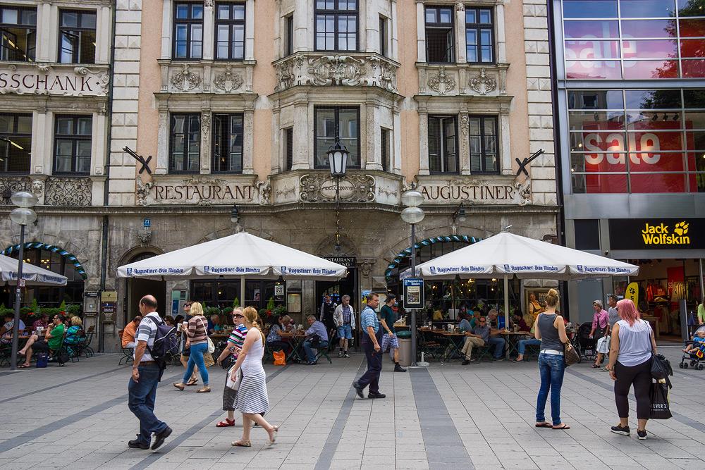Мюнхен достопримечательности Мюнхена что посмотреть в Мюнхене Бавария велопоездка по Баварии SC06931