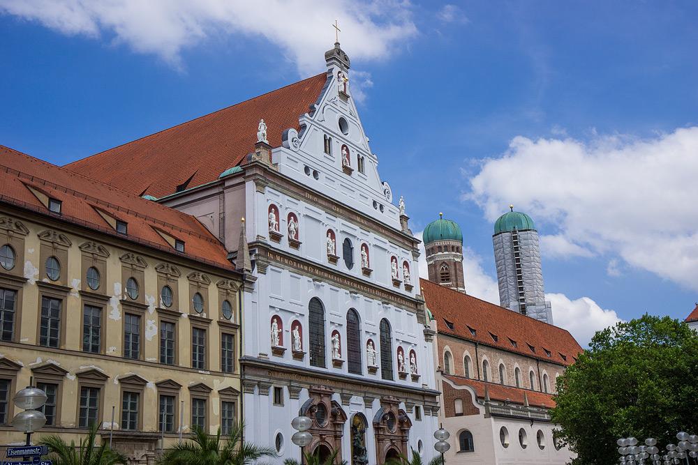 Мюнхен достопримечательности Мюнхена что посмотреть в Мюнхене Бавария велопоездка по Баварии SC06933