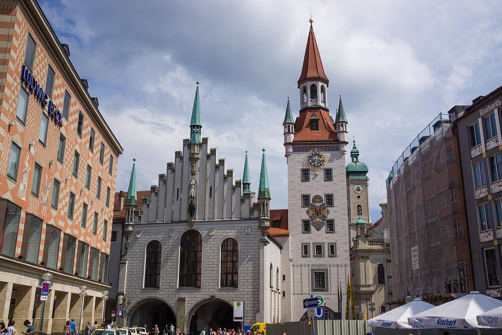 Мюнхен достопримечательности Мюнхена что посмотреть в Мюнхене Бавария велопоездка по Баварии SC06965