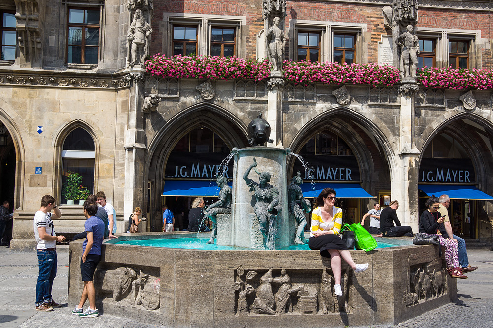 Мюнхен достопримечательности Мюнхена что посмотреть в Мюнхене Бавария велопоездка по Баварии SC06968