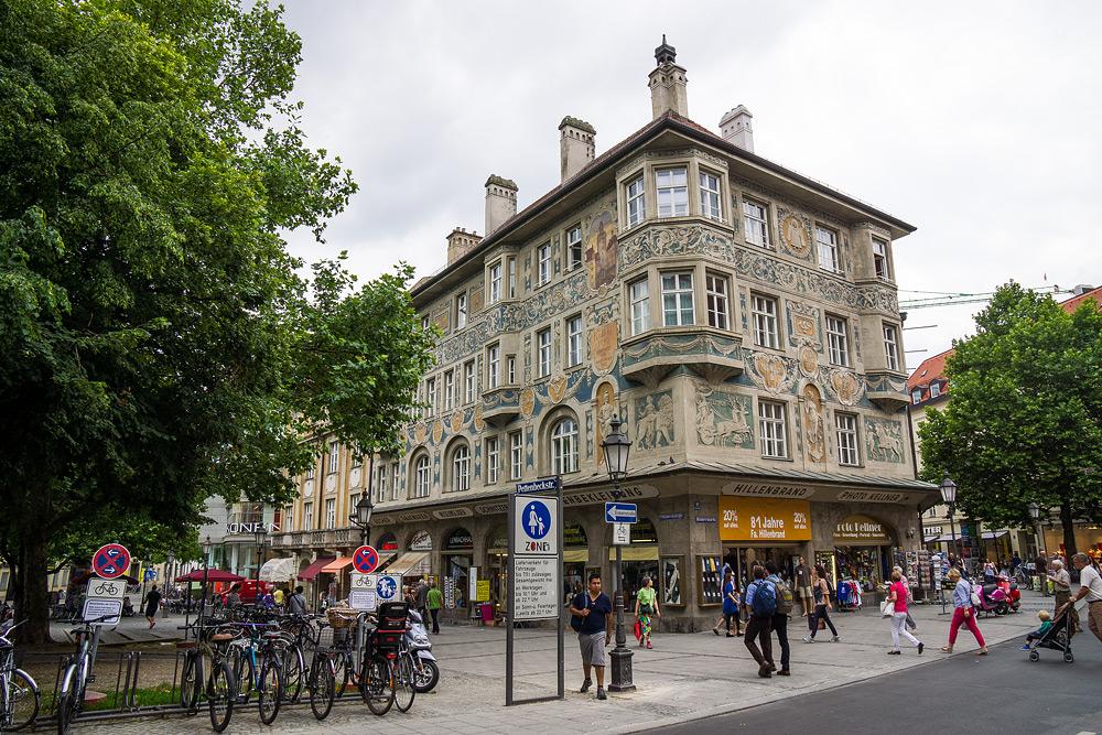 Мюнхен достопримечательности Мюнхена что посмотреть в Мюнхене Бавария велопоездка по Баварии SC06999