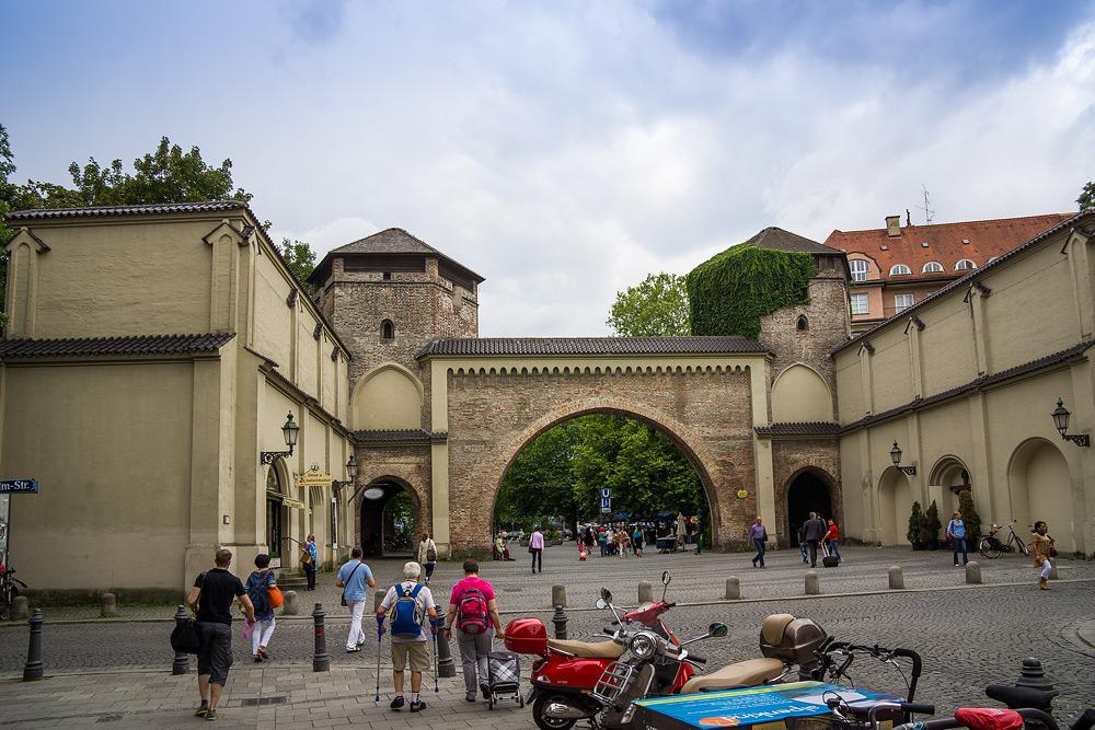 Мюнхен достопримечательности Мюнхена что посмотреть в Мюнхене Бавария велопоездка по Баварии SC07030