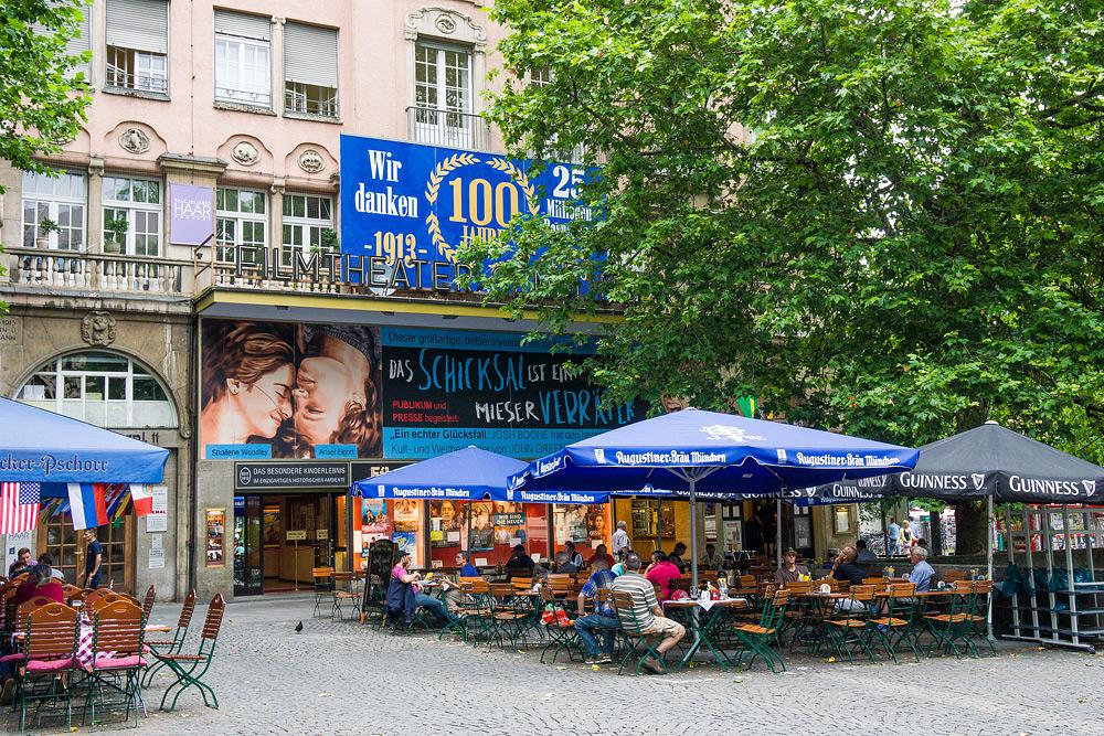 Мюнхен достопримечательности Мюнхена что посмотреть в Мюнхене Бавария велопоездка по Баварии SC07034