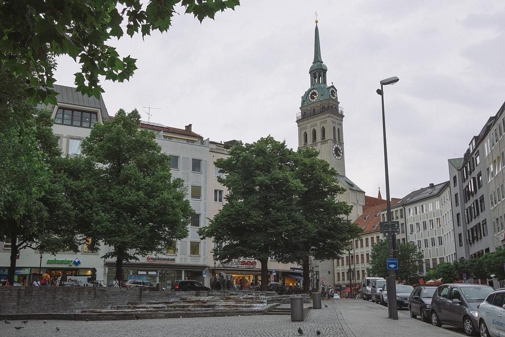 Мюнхен достопримечательности Мюнхена что посмотреть в Мюнхене Бавария велопоездка по Баварии SC07049