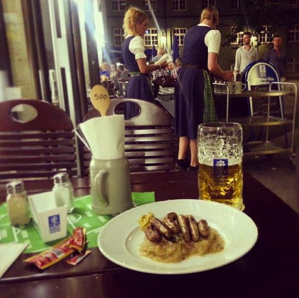 Мюнхен Augustiner am Dom Пиво