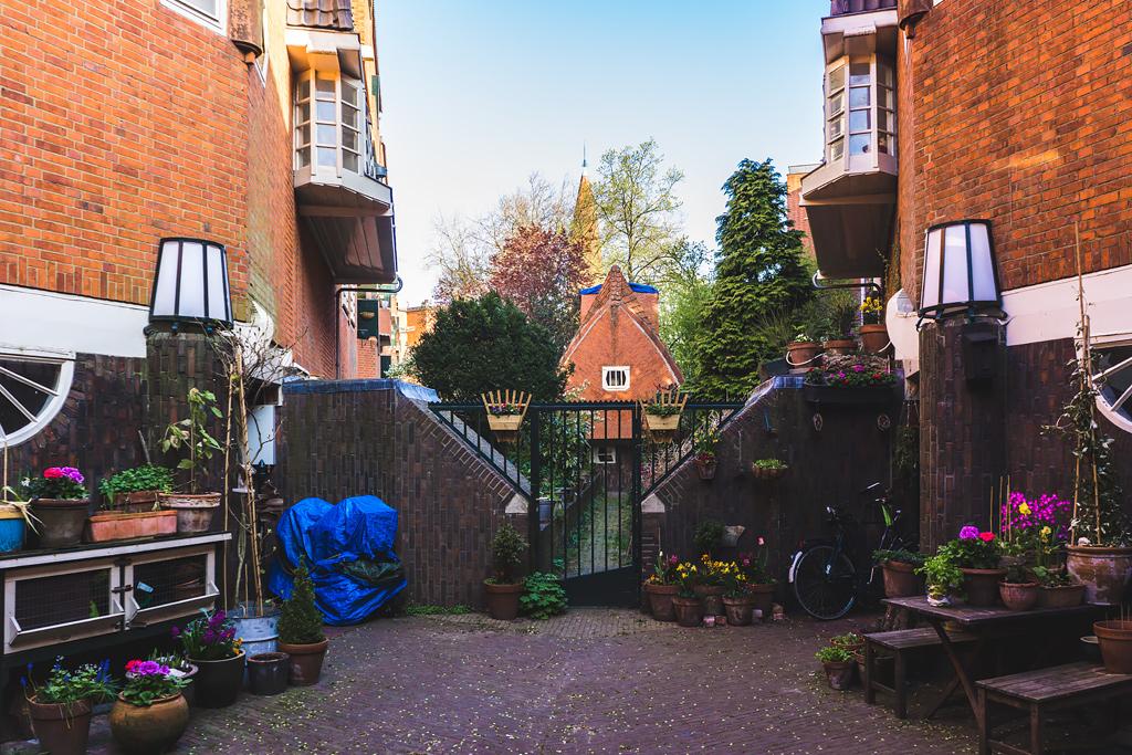 Амстердам Дом-корабль Het schip