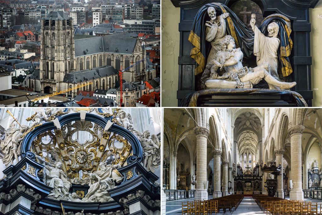 Церковь святого Иакова Антверпен.