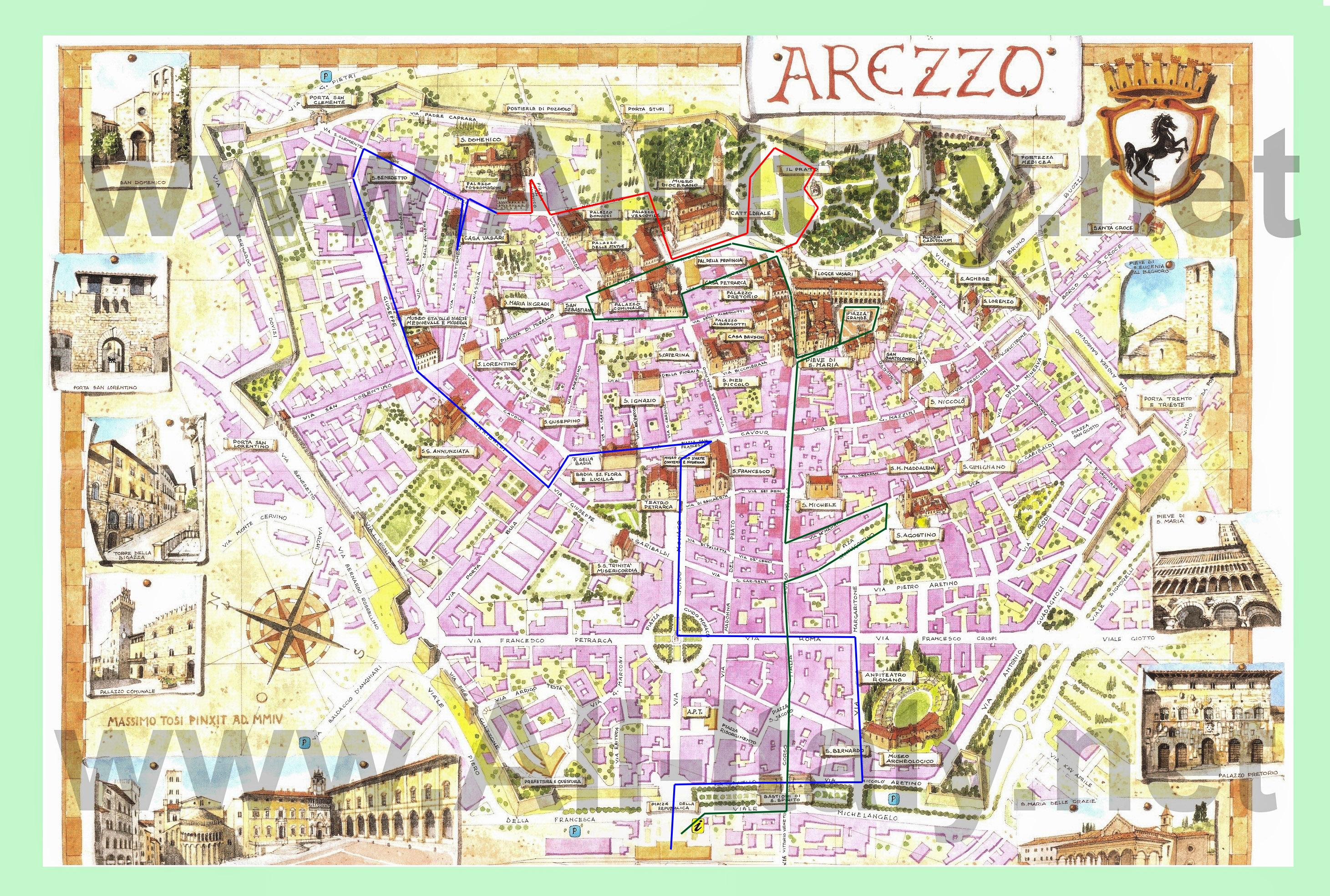 Что посмотреть в Ареццо