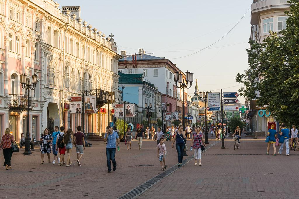 Нижний Новгород что посмотреть. Фото Нижний Новгород улица Большая Покровская