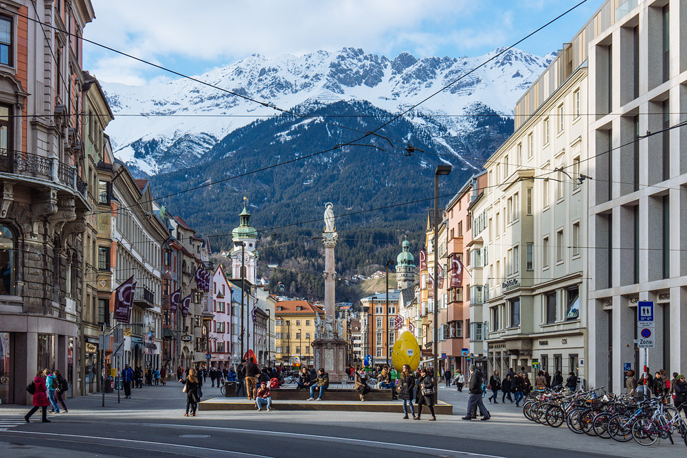 Что посмотреть в Инсбруке. Достопримечательности Инсбрука. Как добраться до Инсбрука. Отчет жж Инсбрук