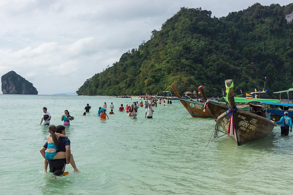 Аренда лодки в Ао Нанге.