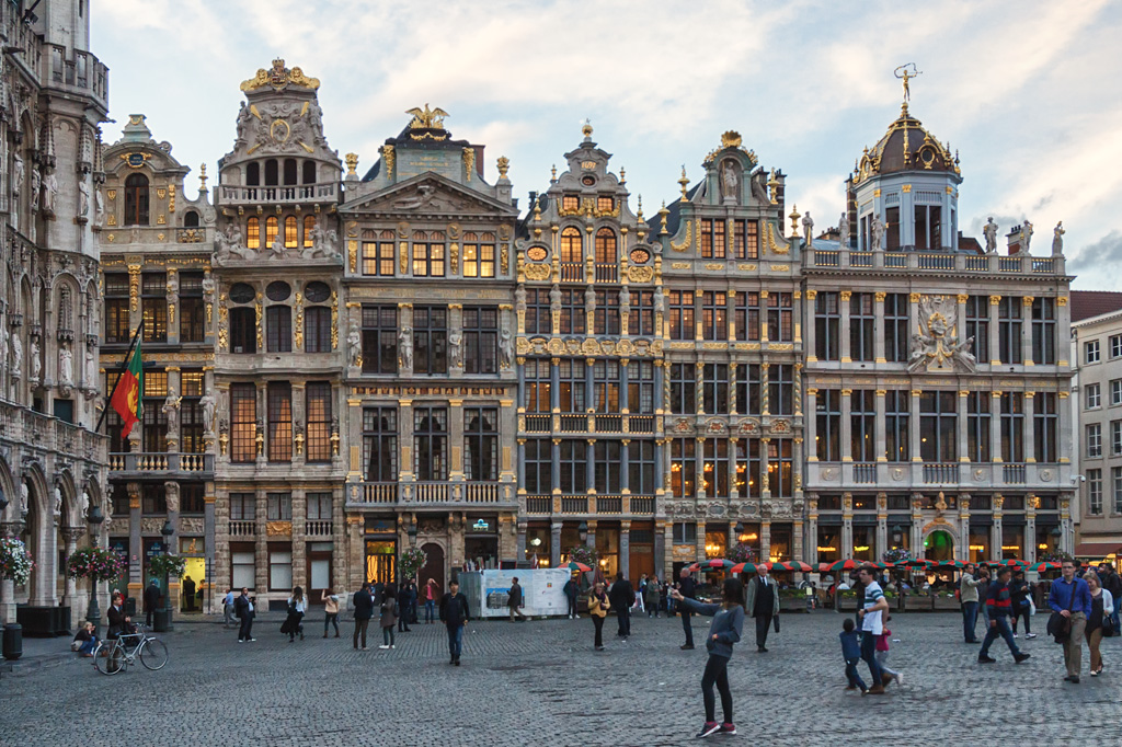 Брюссель фото и достопримечательности. Что посмотреть в Брюсселе. Гранд-Плас фото.