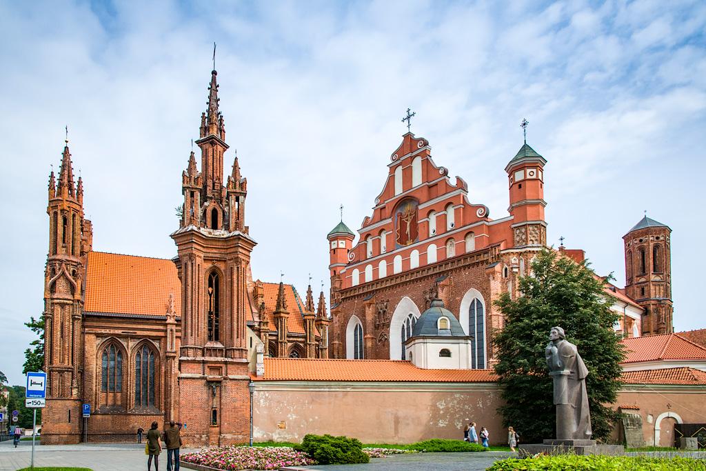 Фото Вильнюса. Что посмотреть в Вильнюсе. Достопримечательности Вильнюса