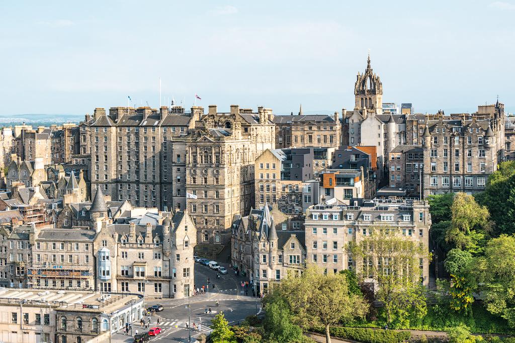 Эдинбург: Старый город