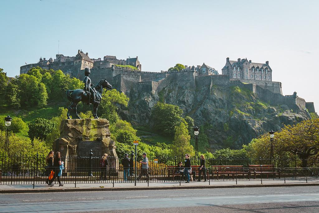 Что посмотреть в Эдинбурге. Фото Эдинбурга. Достопримечательности Эдинбурга.